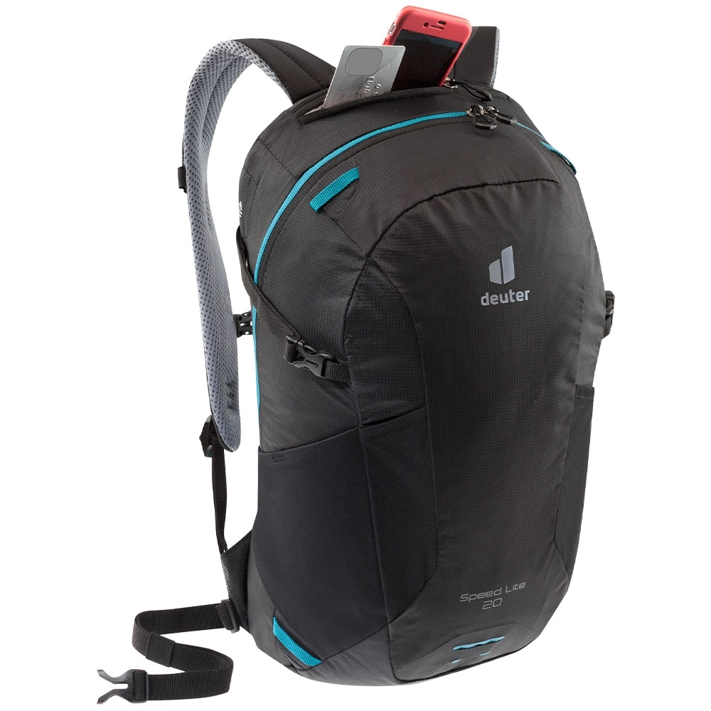 Deuter Speed Lite 20 Hiking Backpack - Valuables compartment