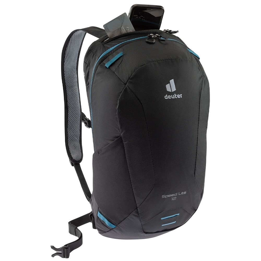 Deuter Speed Lite 12 Hiking Backpack - Valuables compartment