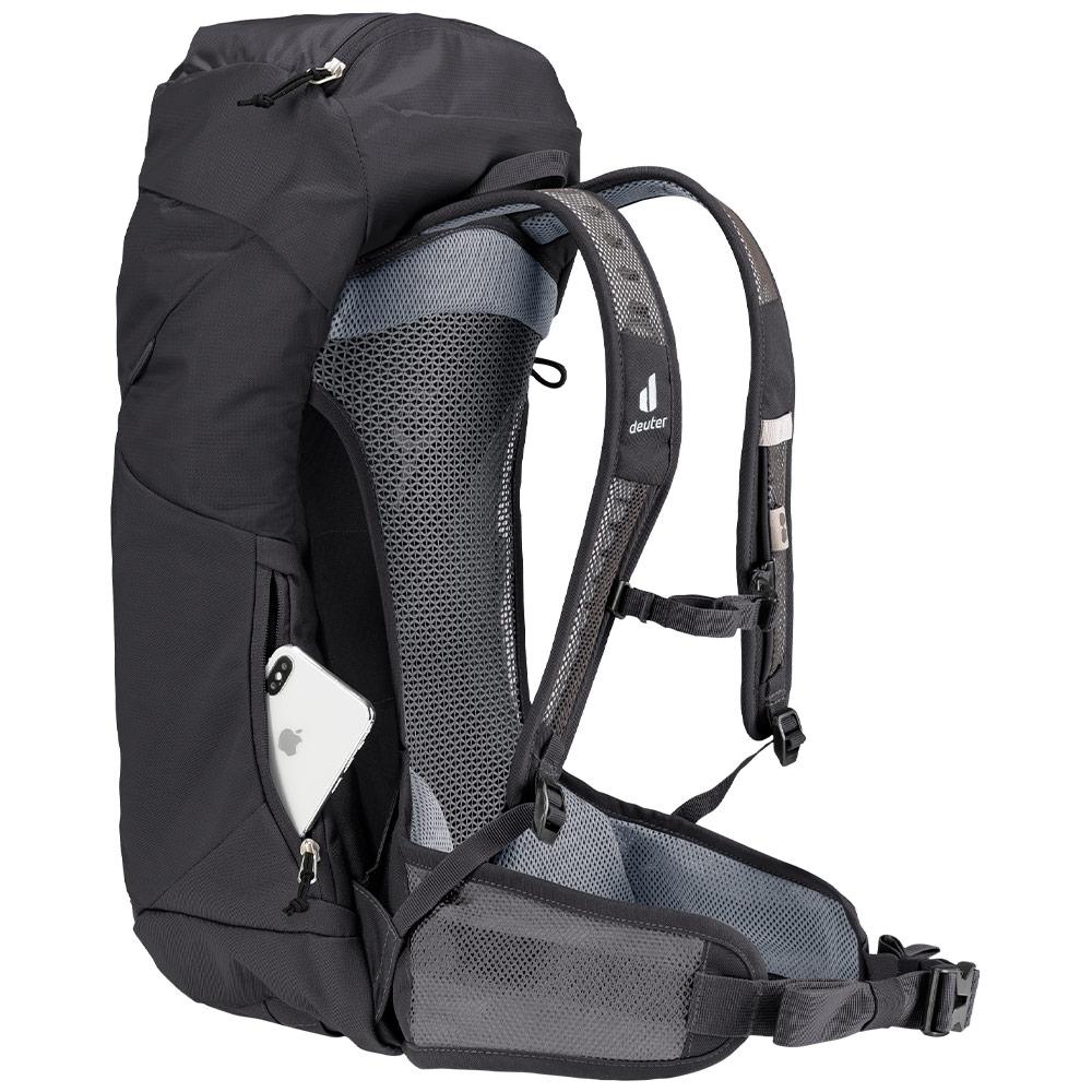 Deuter AC Lite 24 Hiking Backpack - Zippered side pocket