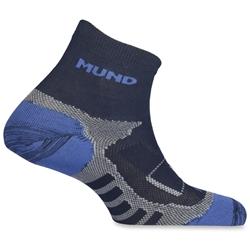 MUND Trail Running Ankle Sock Navy Blue