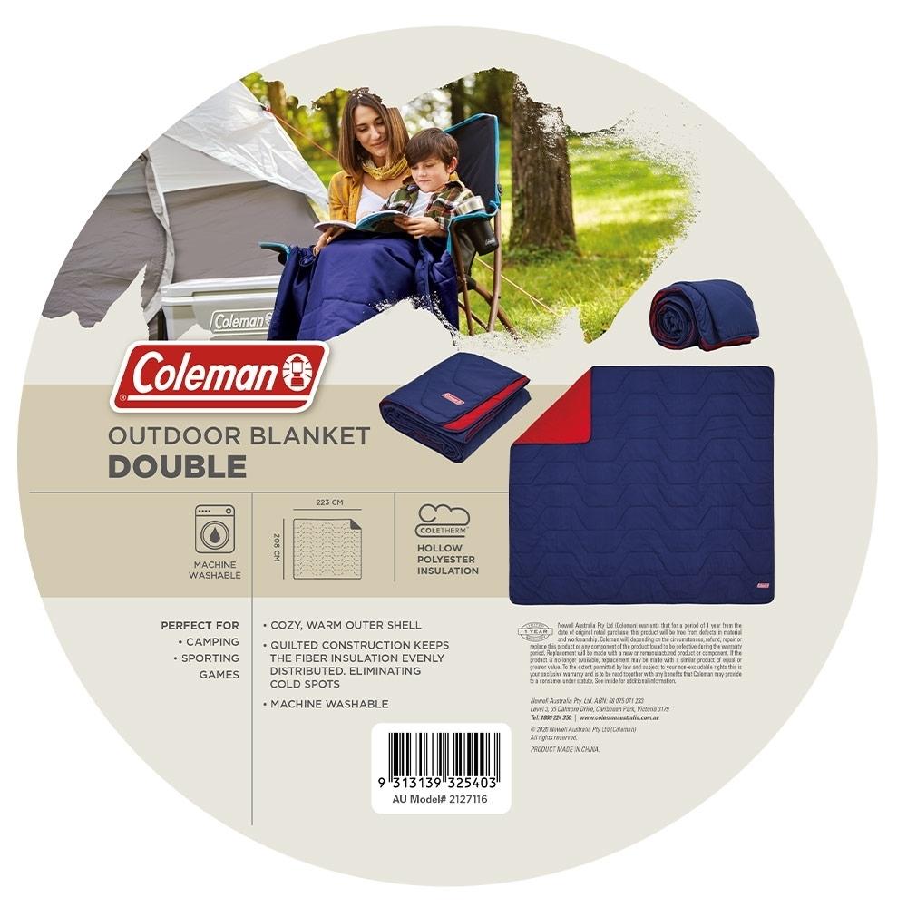 Coleman Outdoor Blanket Double - Details