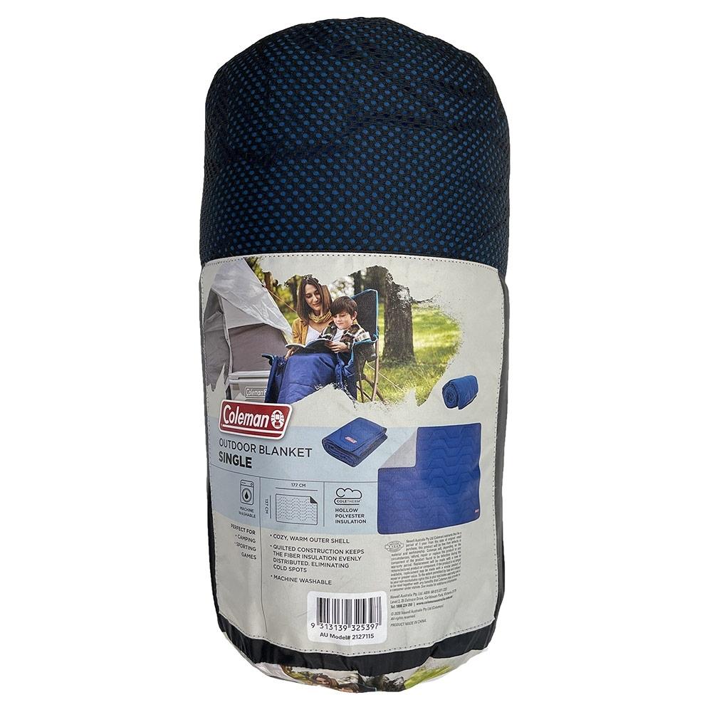Coleman Outdoor Blanket Single - Packed