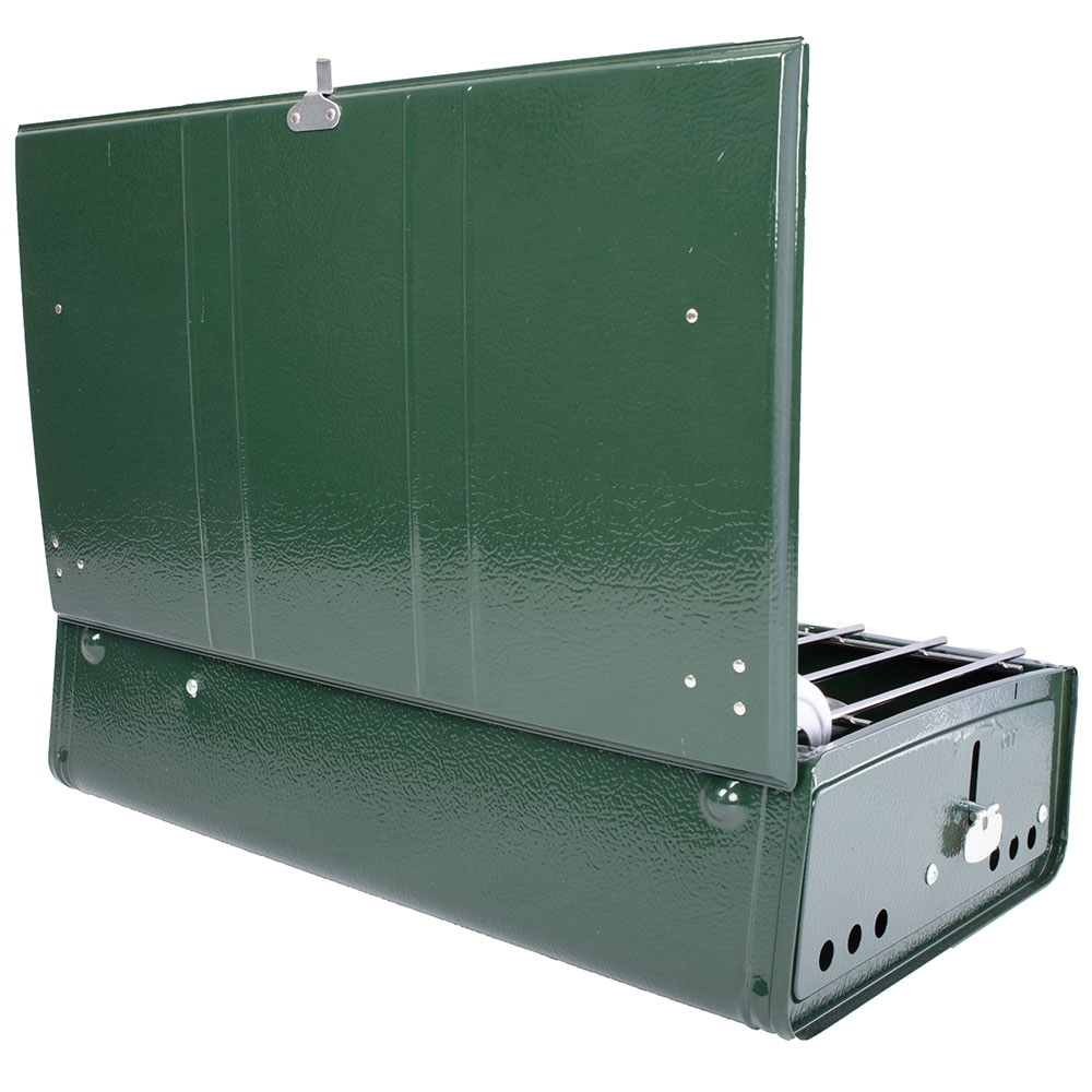 Coleman Guide Series Powerhouse Dual Fuel Stove - Very durable steel case
