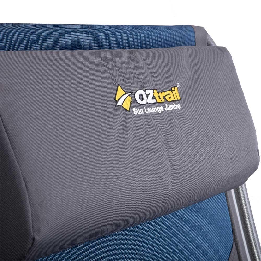 OZtrail Sun Lounge Jumbo Chair - Adjustable pillow