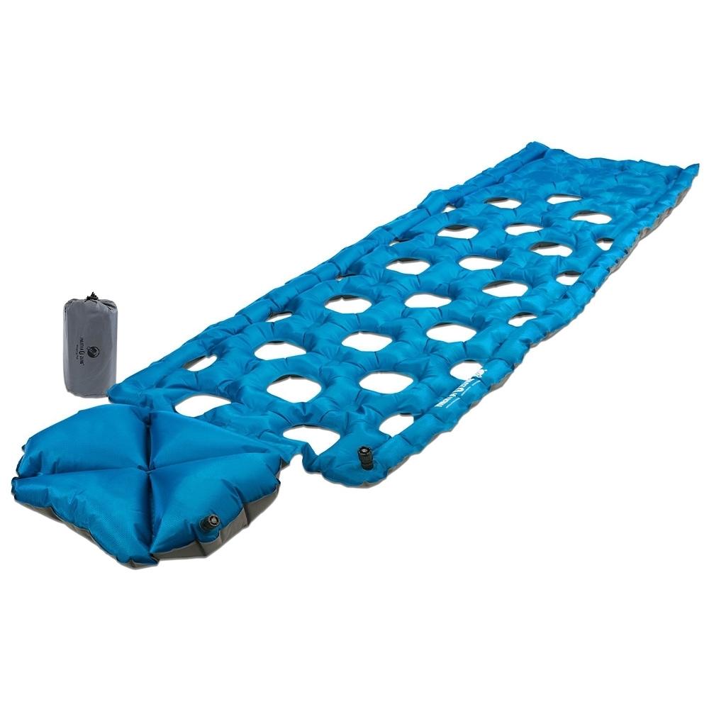 Klymit Inertia Ozone Sleeping Pad - Durable, pillow-integrated, full-size ultralite pad