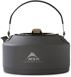 MSR Pika 1L Teapot - Ultralight & compact teapot with a precise pour for coffee, tea & water-based meals