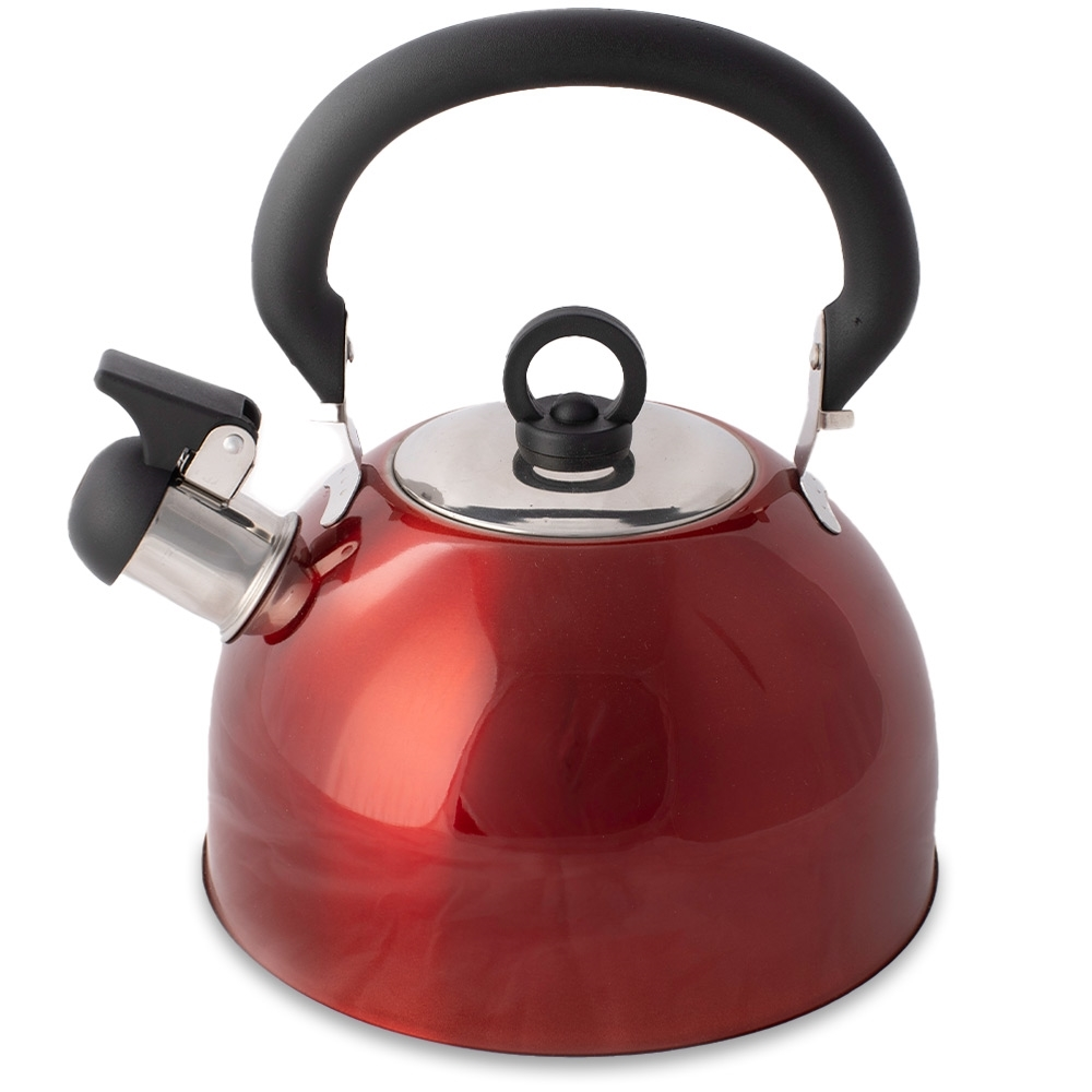Campfire Whistling Kettle 4.0L Red