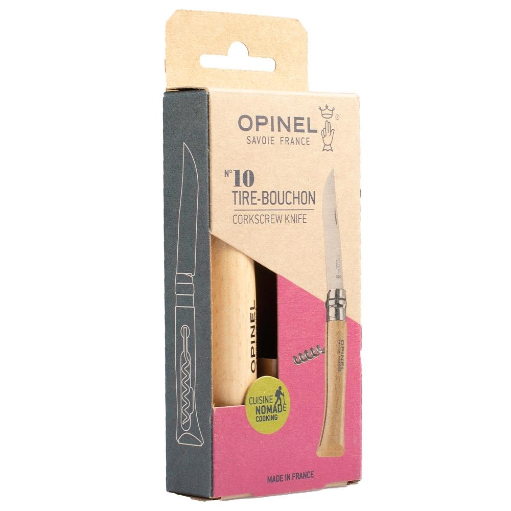 Opinel N°10 Corkscrew Knife - Packaging