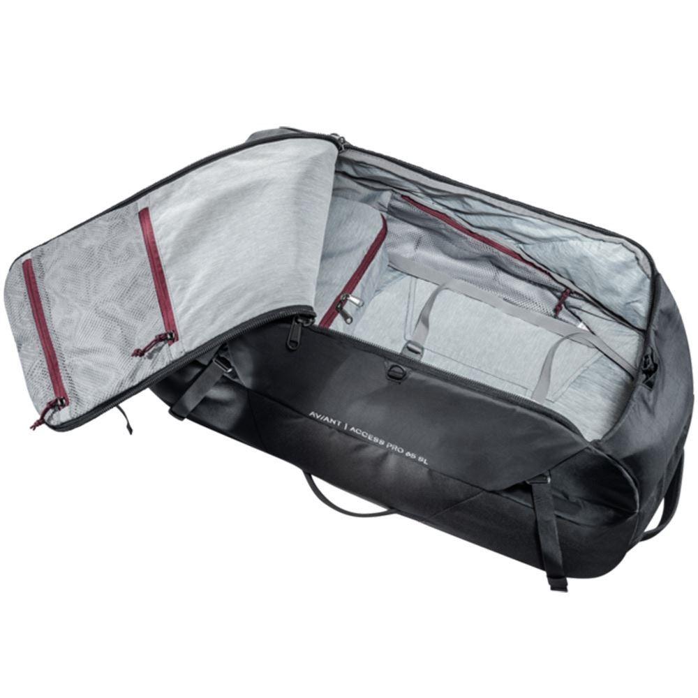 Deuter AViANT Access Pro 65 SL Black - Inside main compartment