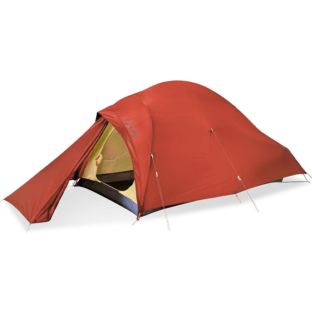 "Vaude Hogan UL 2P Tent Orange - Ultra lightweight ""inner first"" tent design for mountaineers and trekkers"