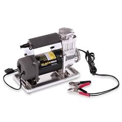 Bushranger 4x4 Gear Black Max Compressor - Powerful 12 volt motor and air pump