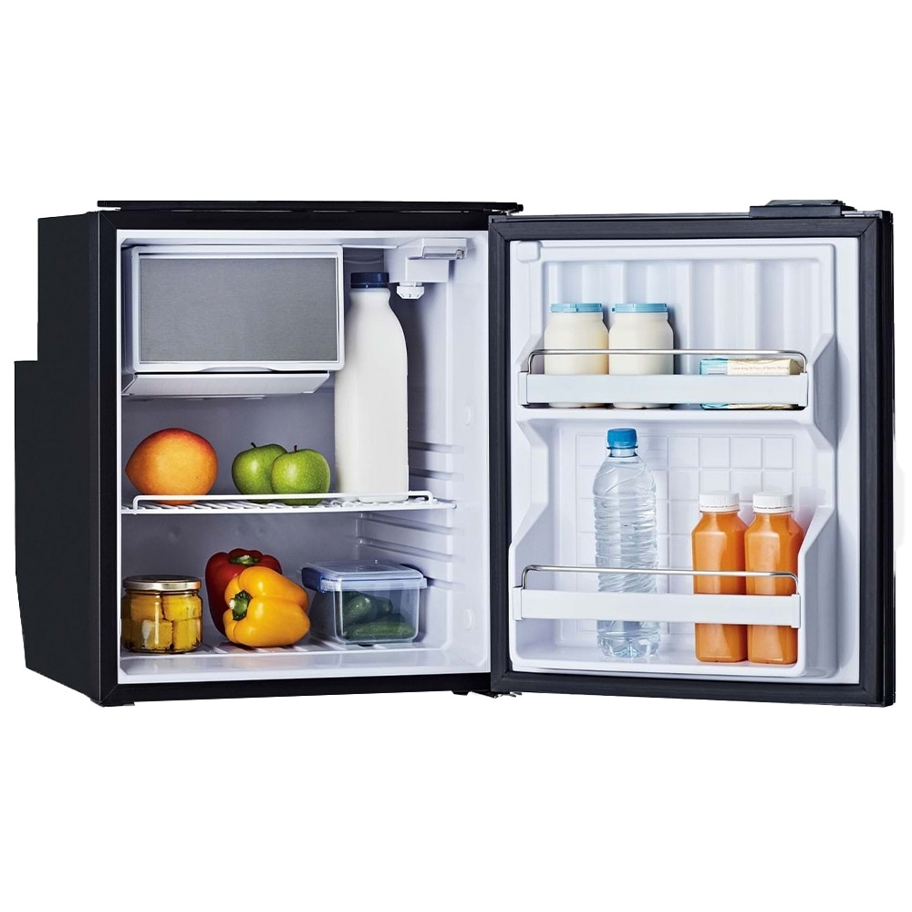 Bushman DC65-X 65L Upright Fridge - Unique deep and narrow freezer design gives more room to stand up larger bottles