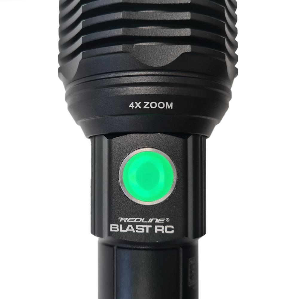 NEBO Redline BLAST RC Rechargeable Flashlight & Power Bank - Button