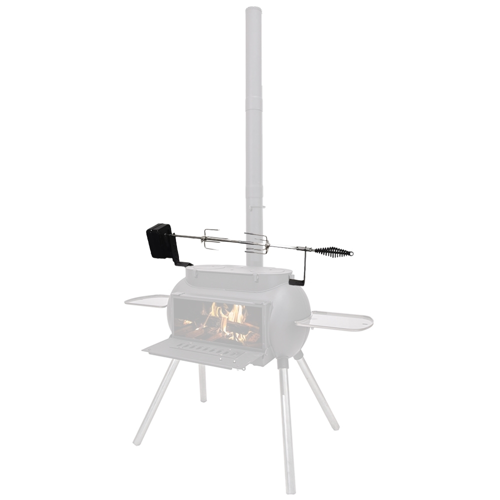 Ozpig Big Pig Rotisserie Kit - Attaches easily to your separately available Ozpig Big Pig