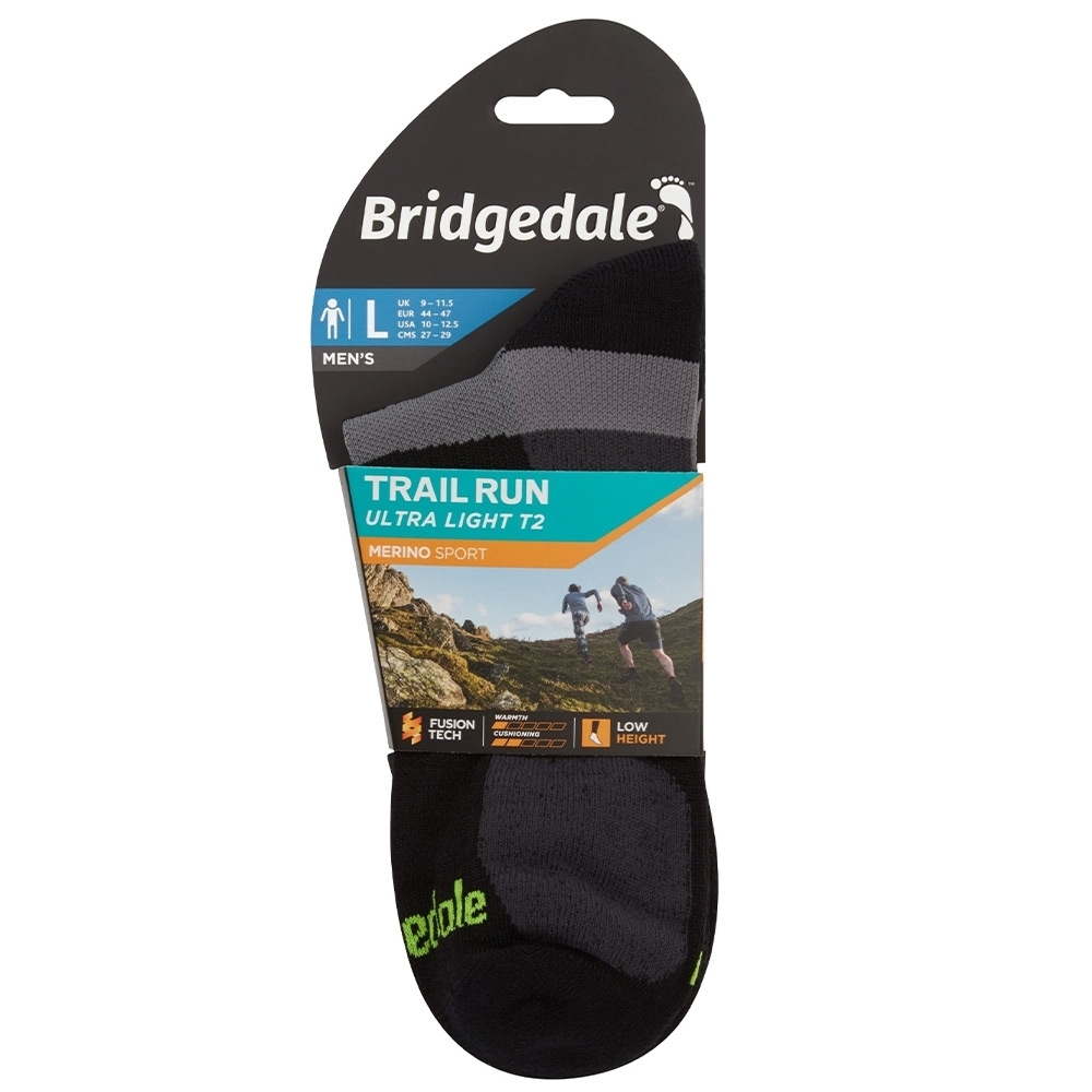 Bridgedale Trail Run Ultralight T2 Merino Sport Low Sock