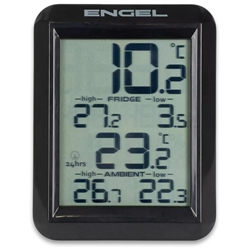 Engel Wireless Thermostat - Wireless thermometer with a large LCD display