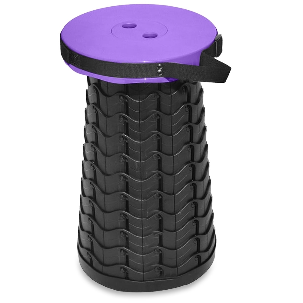 Outdoor Connection Multipurpose Compact Stool Purple