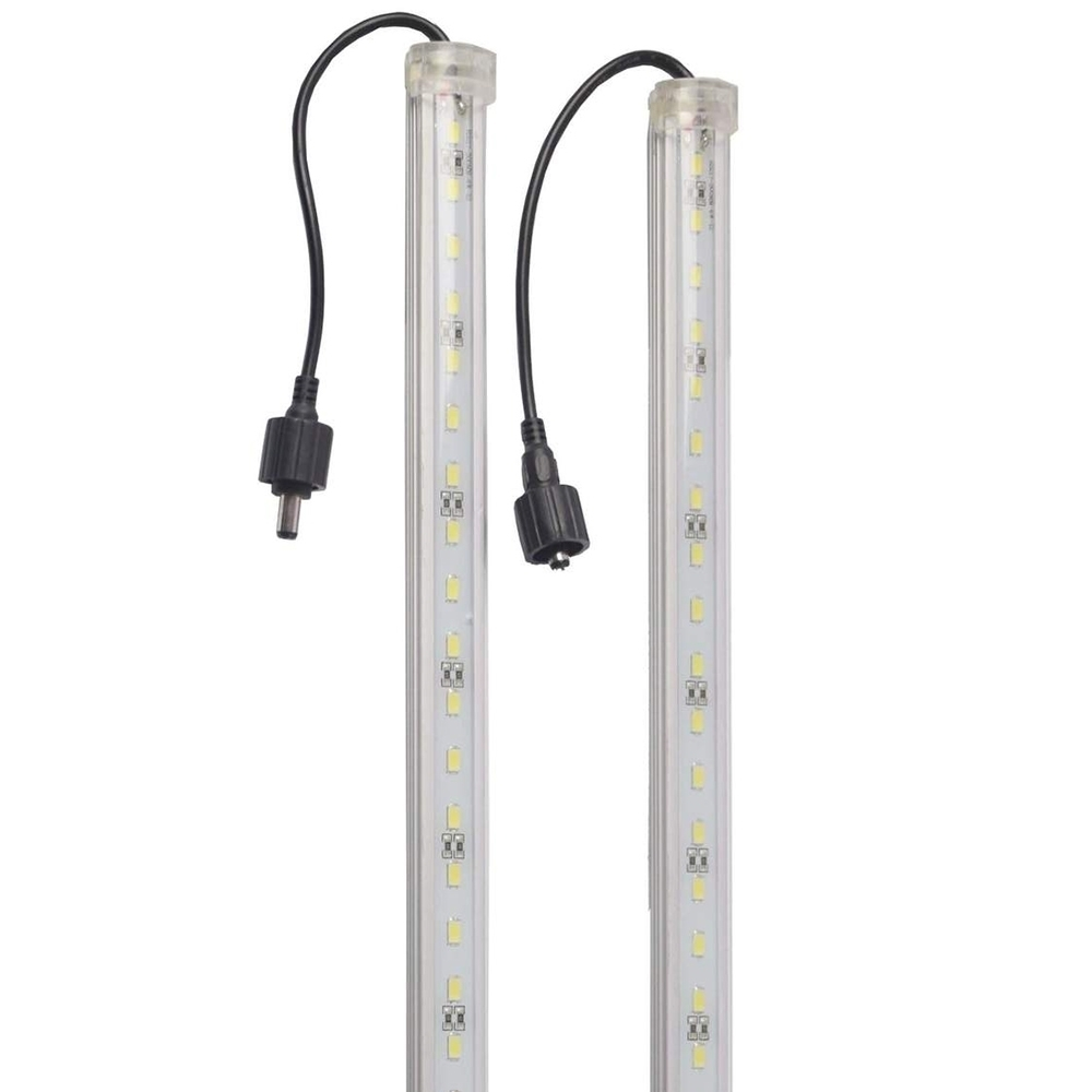 Outdoor Connection Bright Night Light Bar Kit - 2 Bar White - Light bar with connector
