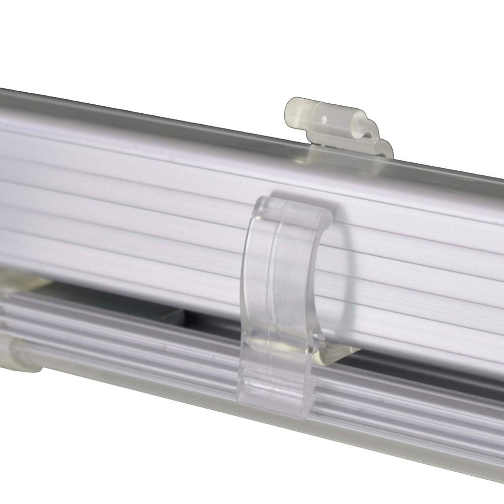 Outdoor Connection Bright Night Light Bar Kit - 2 Bar White - Clips