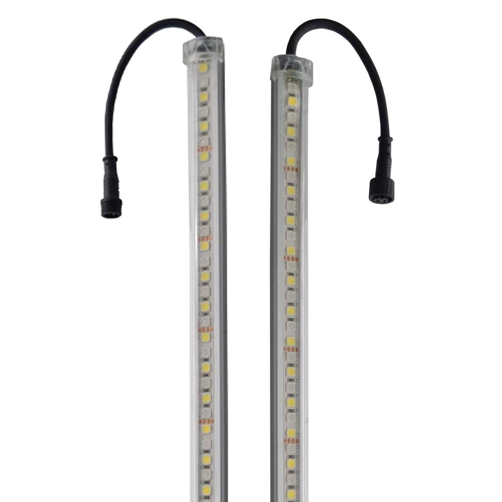 Outdoor Connection Power Strip Light Bar Kit - 4 Bar White/Amber - Light bar with connector