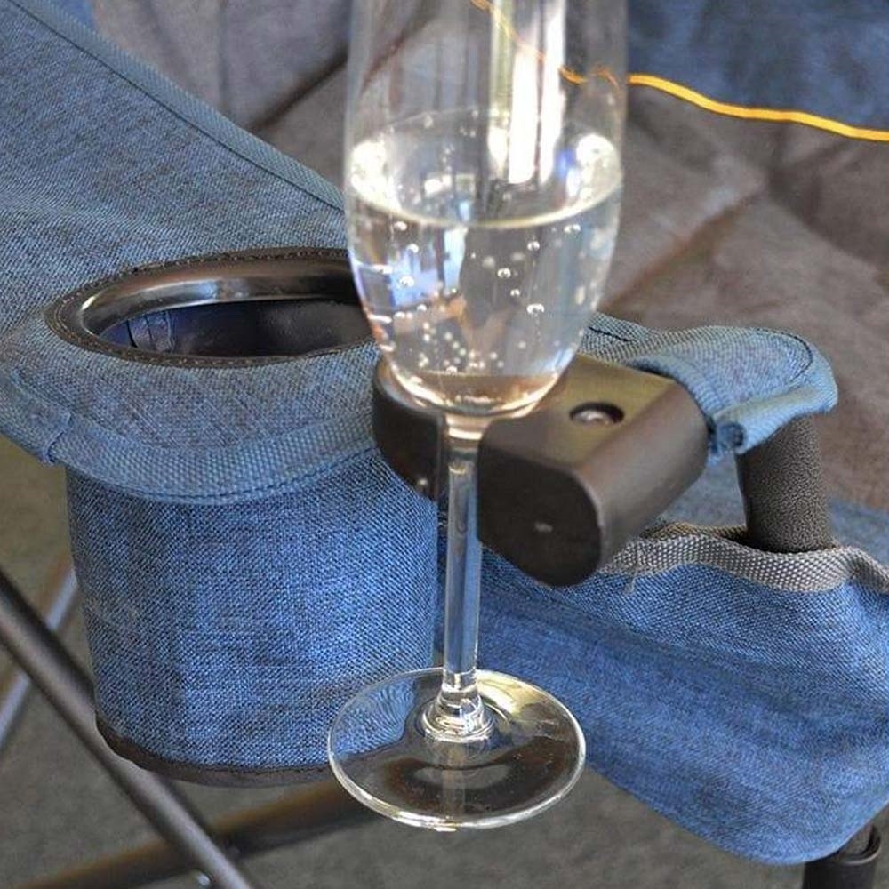 Outdoor Connection Burly Lumbar Chair - Wine glass holder