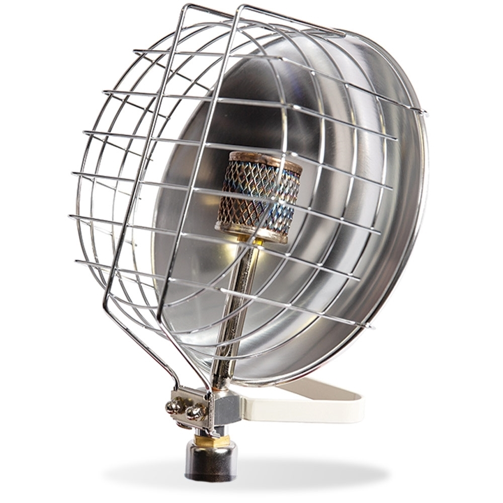 Companion Radiant Gas Heater - Aluminium reflector provides an intense and even heat output