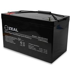 Hard Korr Zeal 12V 125AH AGM Deep Cycle Battery