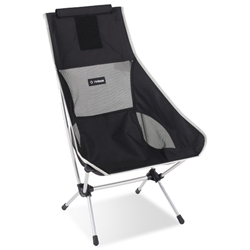 Helinox Chair Two Black with Silver Frame