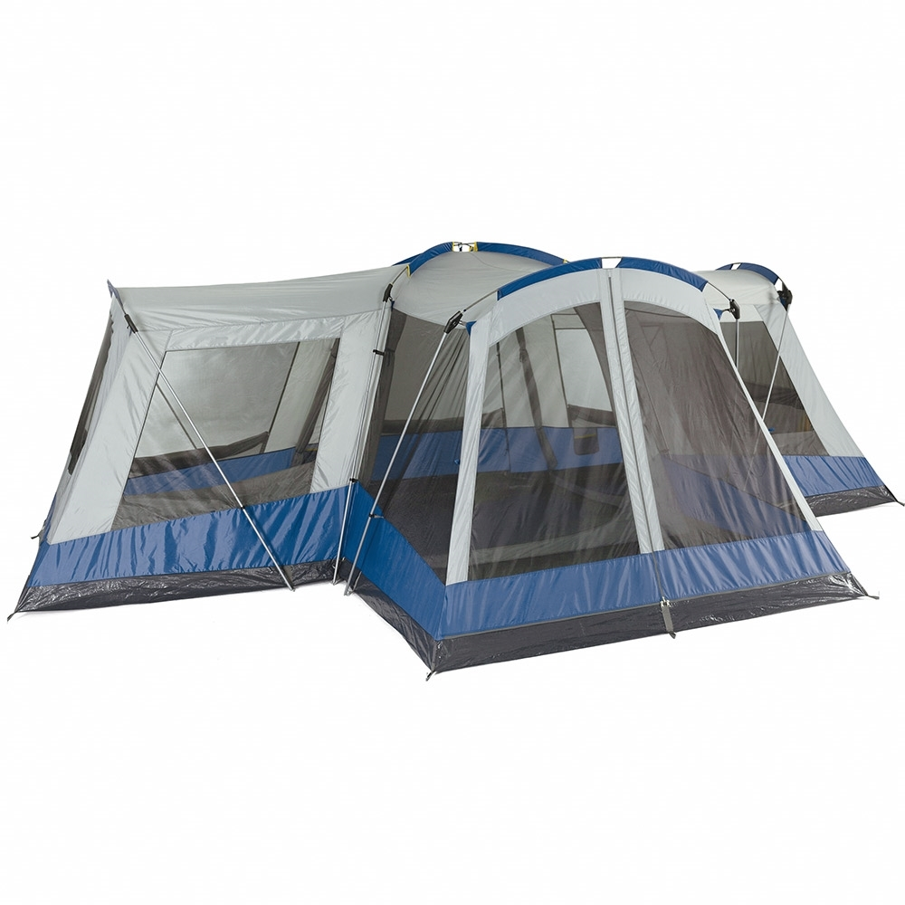 OZtrail Family 12 Dome Tent - No-See-Um mesh windows allow for ventilation
