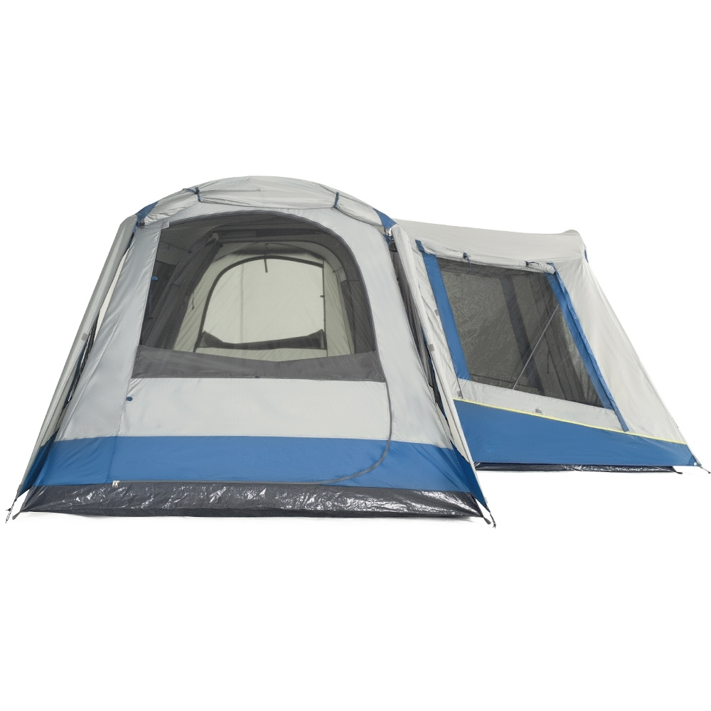 OZtrail Family 12 Dome Tent - Duraplus Fibreglass Black Series poles with stainless steel joiners for durability.