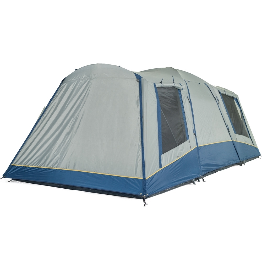 OZtrail Family 10 Dome Tent - Large rear and side windows provide excellent ventilation