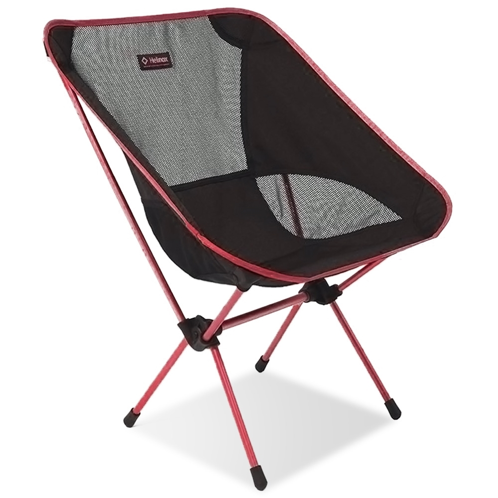 Helinox Chair One L Black with Burgundy Frame