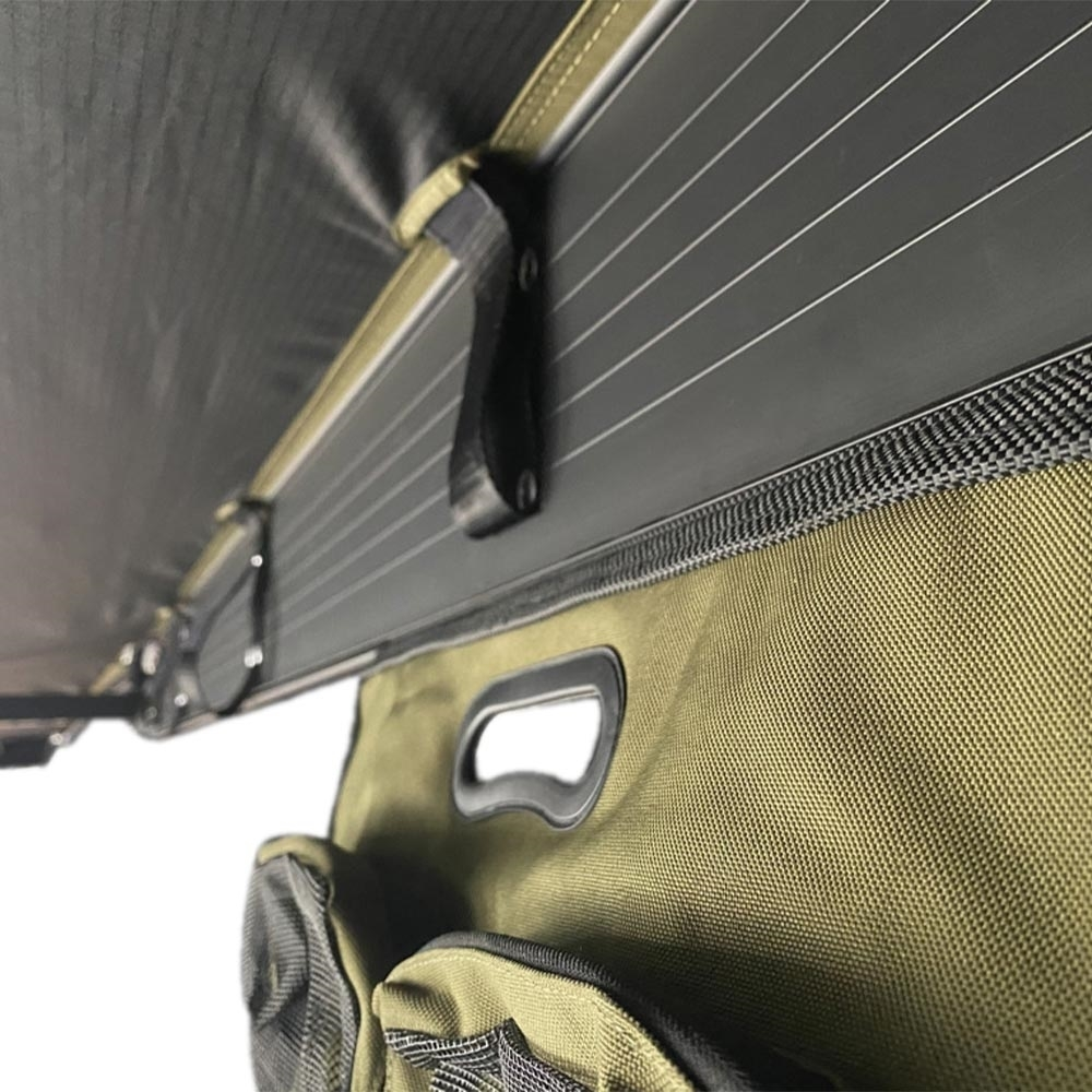 23ZERO Storage Sling - Unroll and suspend from any awning or roof top tents with a sail track