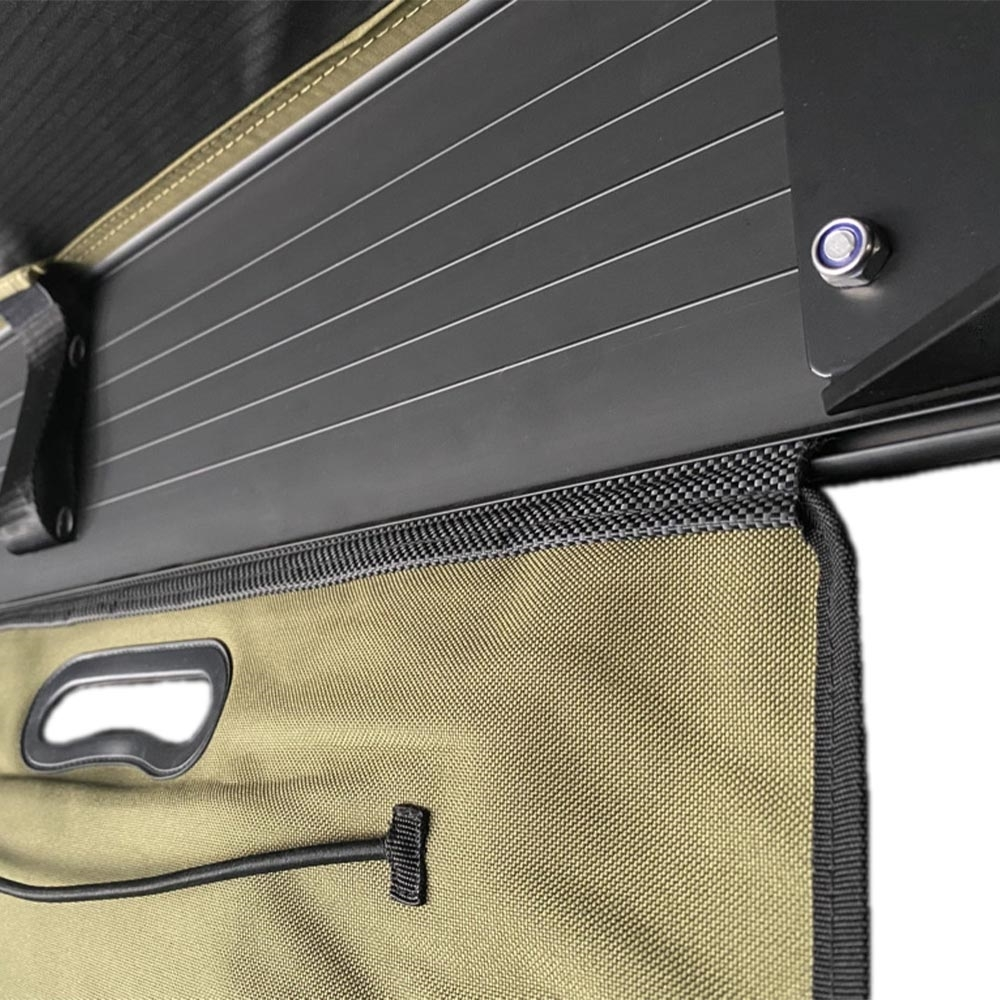 23ZERO Kitchen Sling - Unroll and suspend from any awning or roof top tents with a sail track