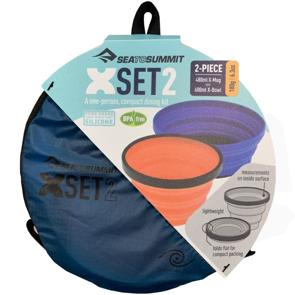 Sea to Summit X-Set 2 Piece - Packaging