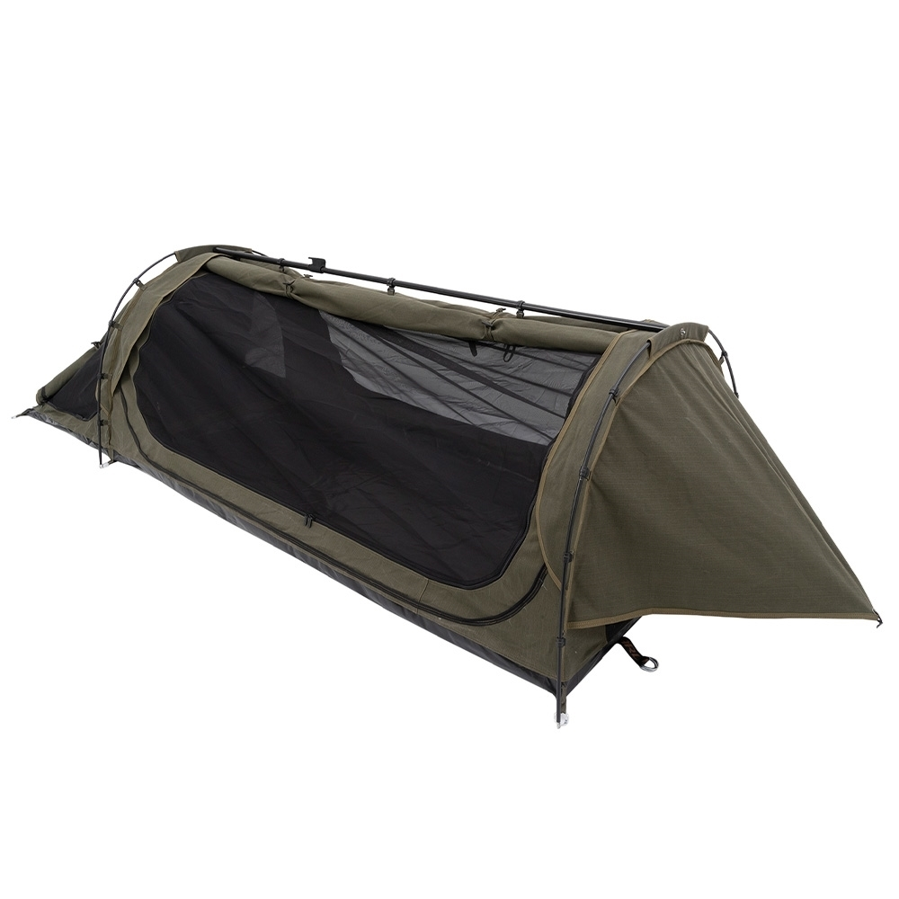 Darche Limited Edition Dusk to Dawn + Swag - Two massive super-fine mesh doors and a zip down ventilation window with storm cover