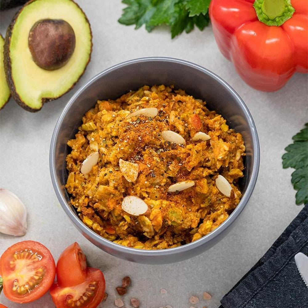 Radix Nutrition Plant-Based Mexican Chilli with Avocado - PERFORMANCE 600