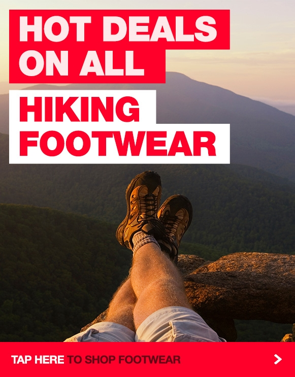 Huge range of hiking boots & shoes at our everyday low prices!