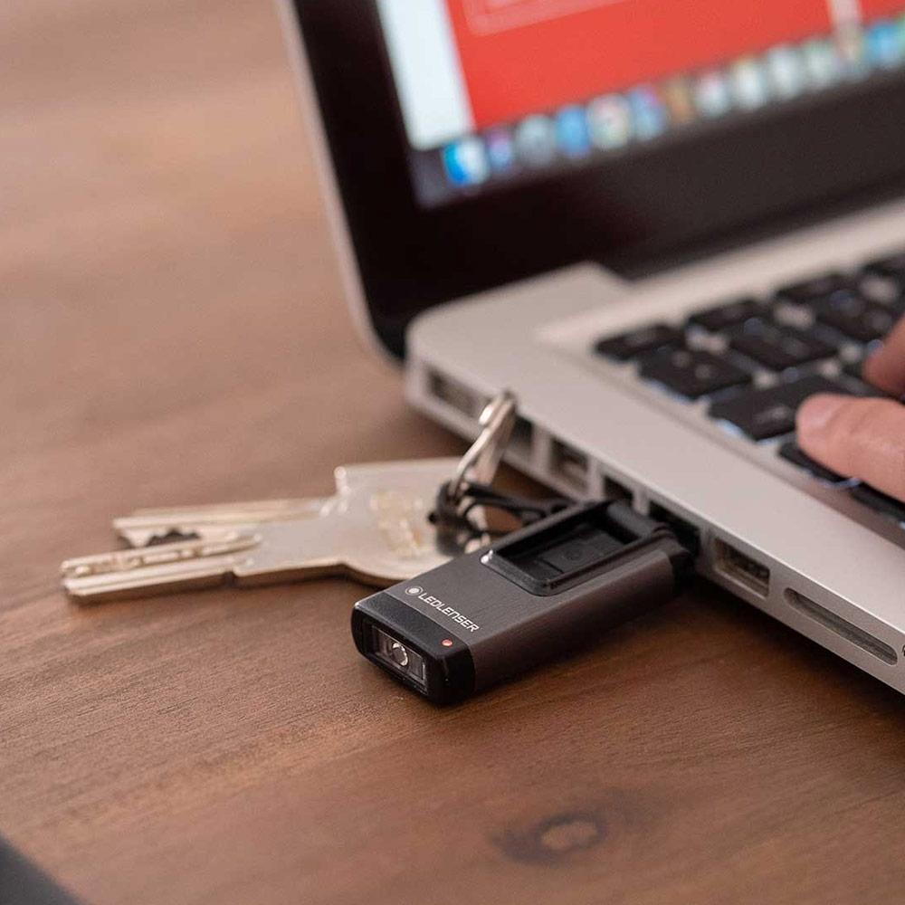 Ledlenser K4R Rechargeable Keychain Light