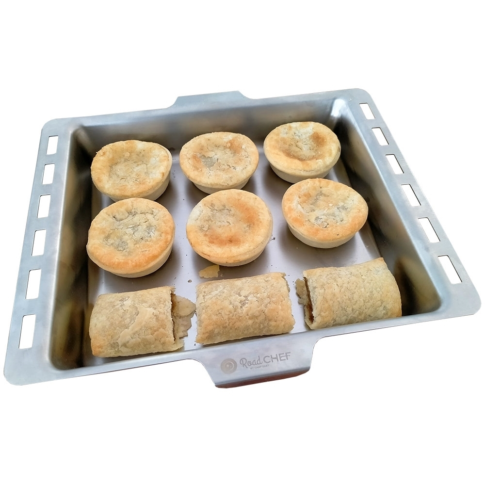Road Chef Big Bertha 12V Oven - Baking tray included