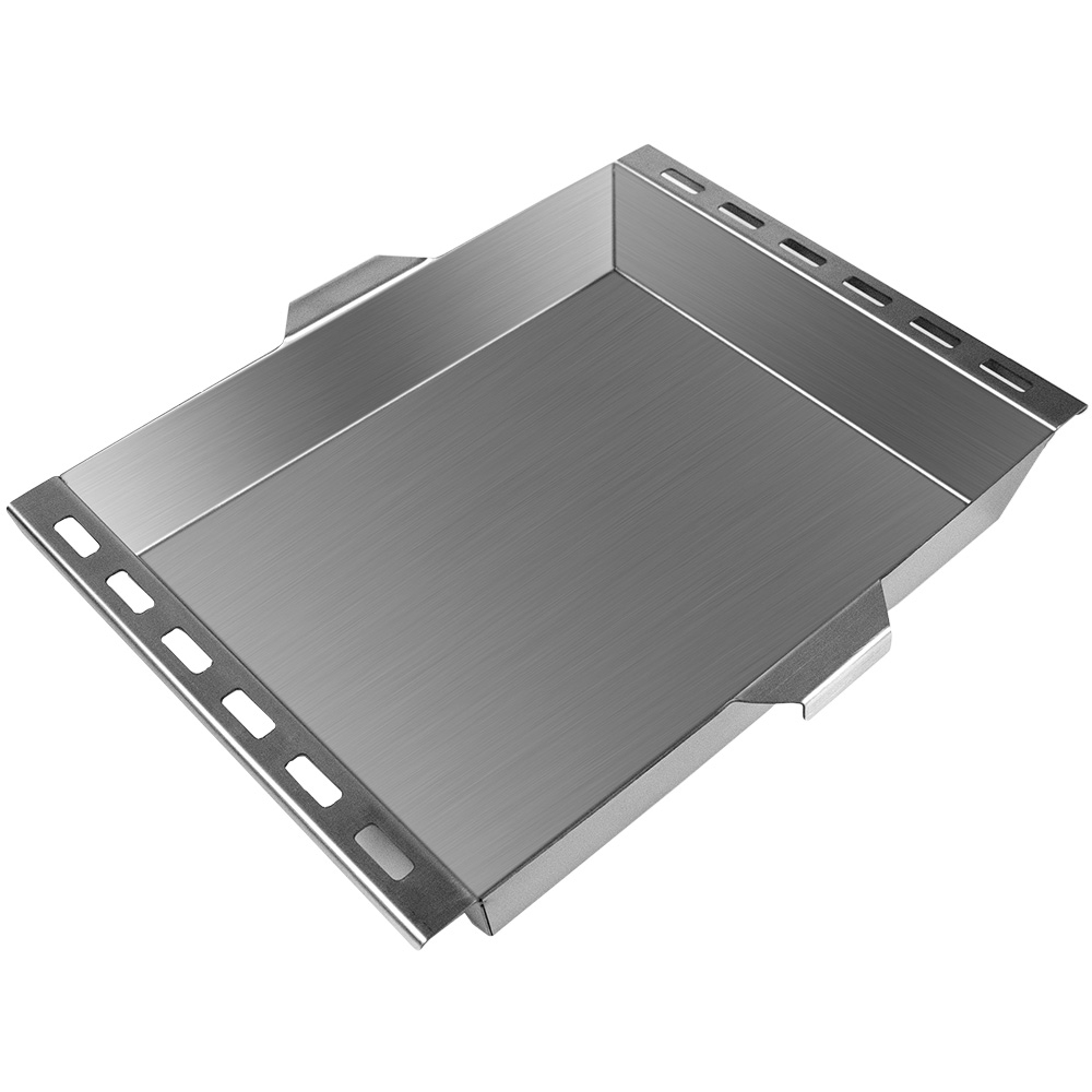 Road Chef Big Bertha 12V Oven - Baking tray features ventilation holes for even cooking
