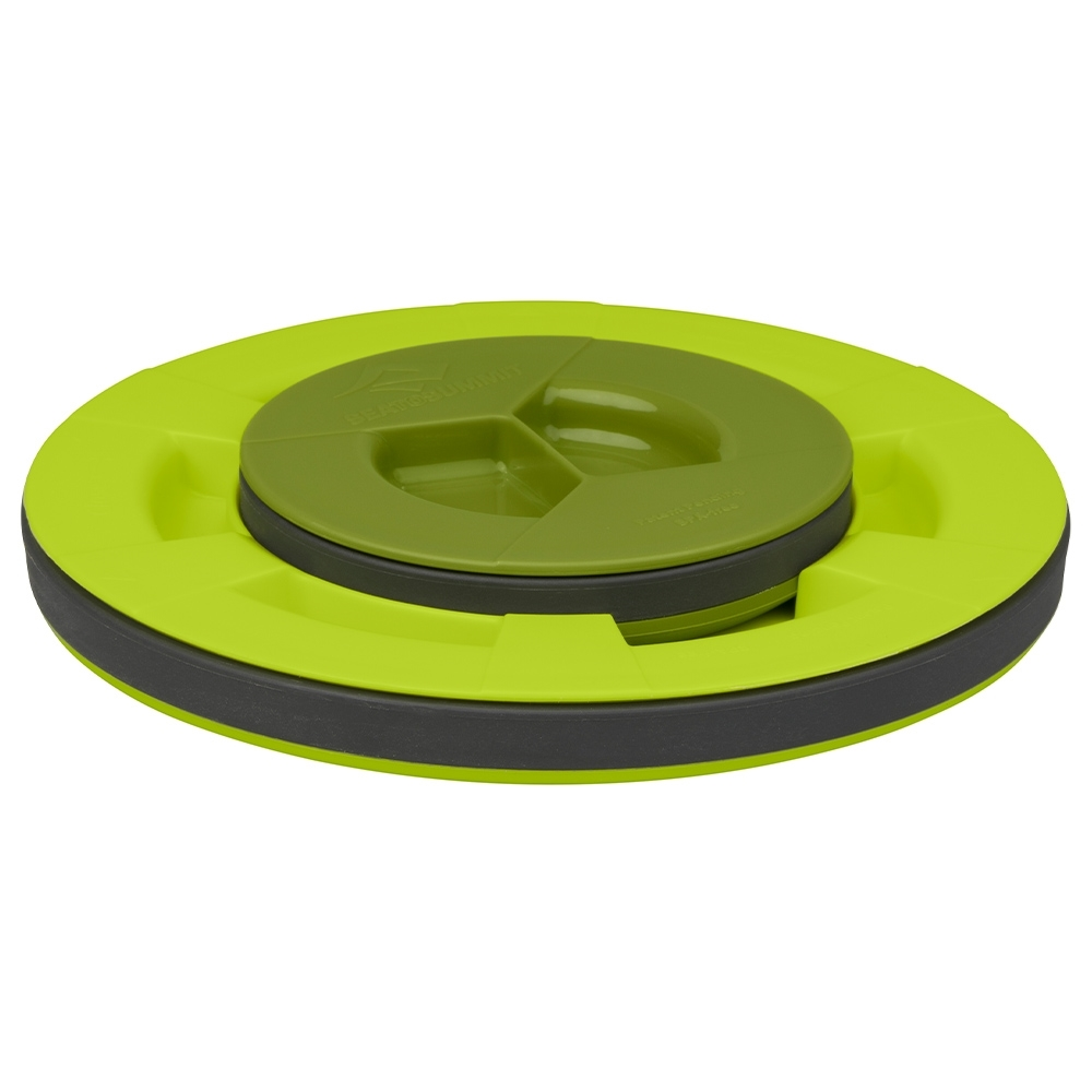 Sea to Summit X-Seal & Go Set Small - Smaller container friction fits into the lid of the larger container for compact storage