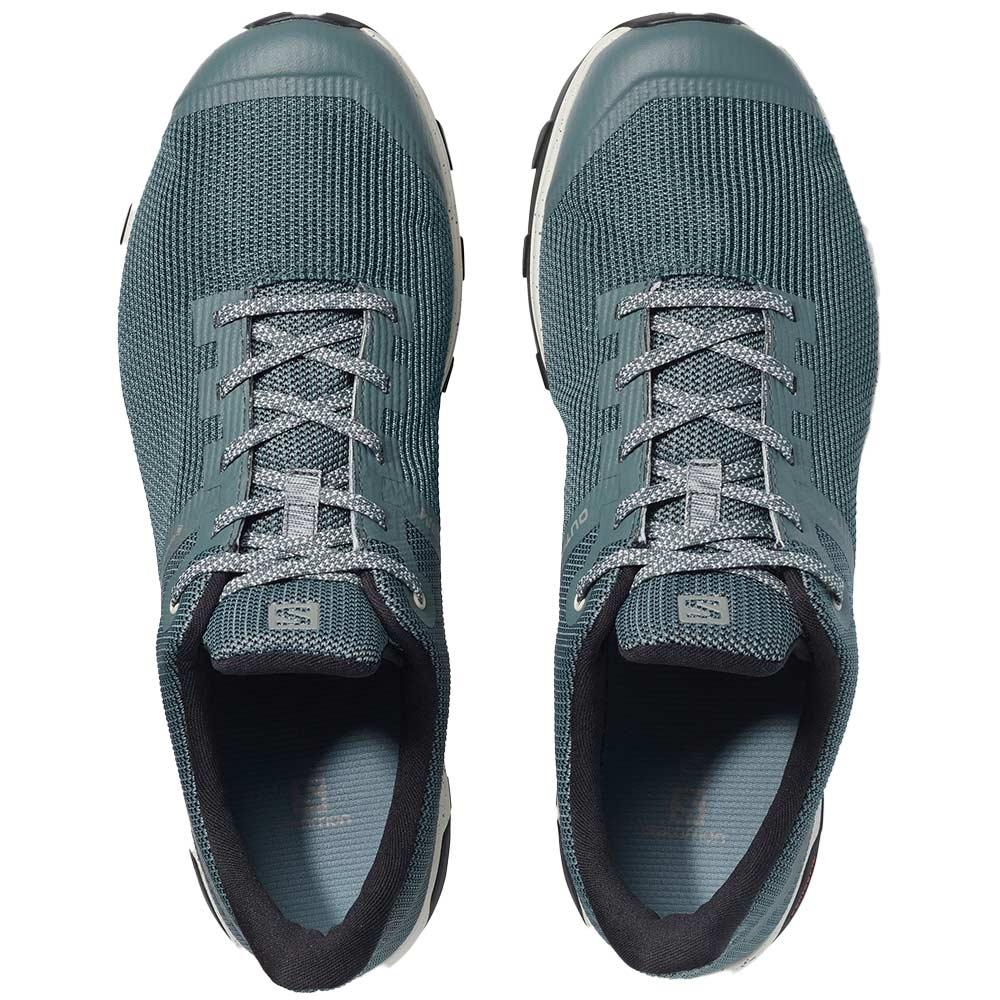 Salomon Outline Prism GTX Men's Shoe Stormy Weather Vanilla Ice Black