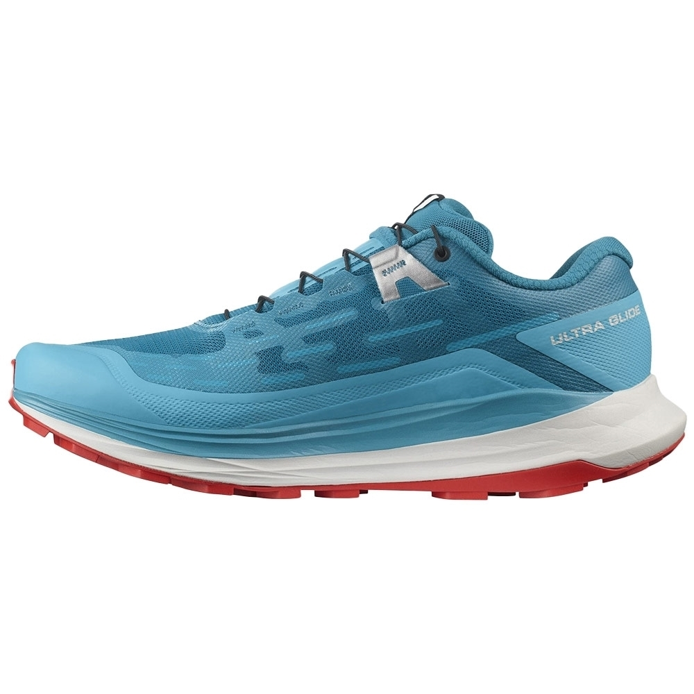 Salomon Ultra Glide Men's Shoe - Reverse Camber and high stack height