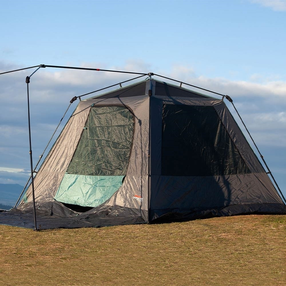 Darche KOZI Series 6P Instant Tent - Oversized windows and large mesh roof for great ventilation