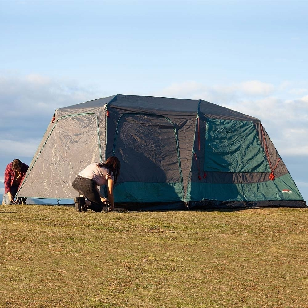 Darche KOZI Series 6P Instant Tent - Durable water repellent canopy with UPF 50+ protection
