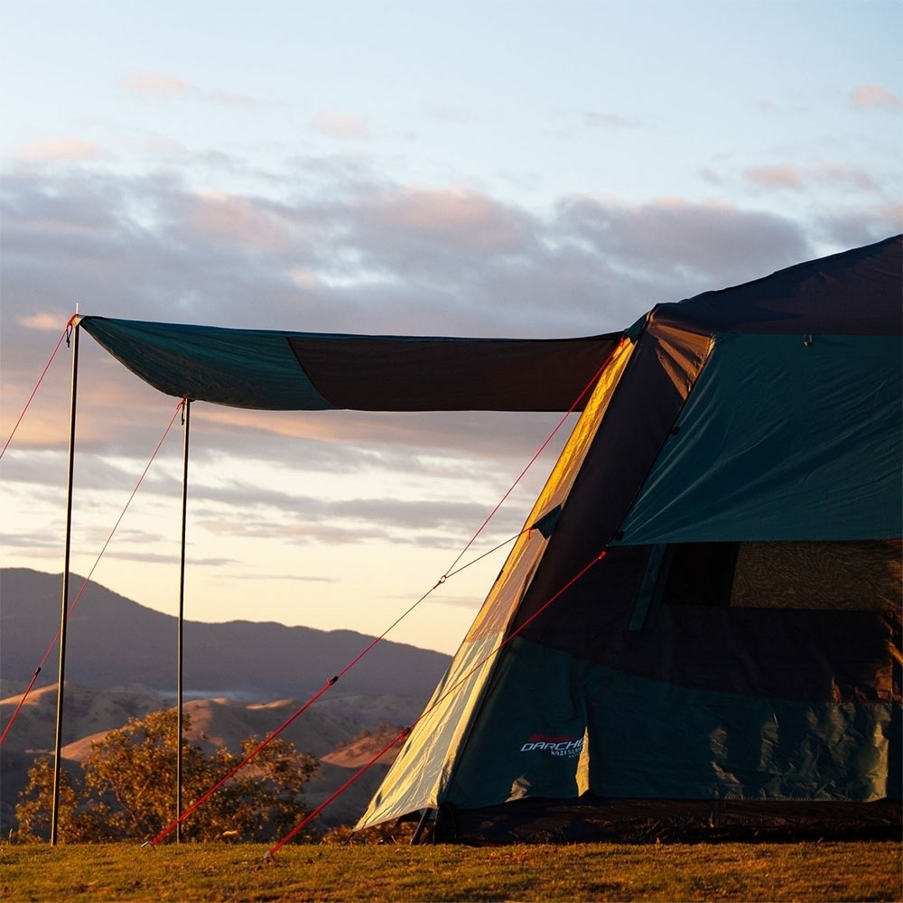 Darche KOZI Series 6P Instant Tent - Rear awning