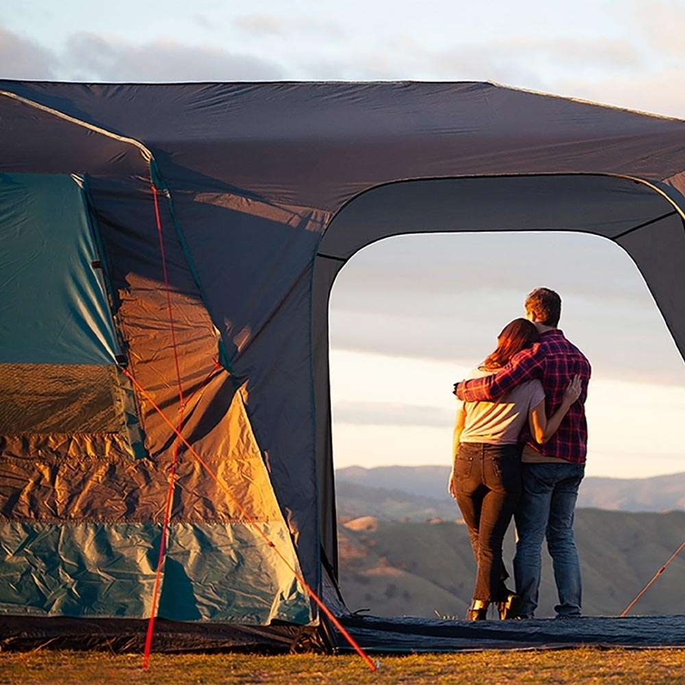 Darche KOZI Series 6P Instant Tent - Built-in front shelter