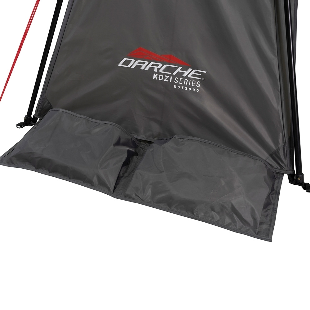 Darche KOZI Series Compact Shelter - Built-in sand pockets for beach use
