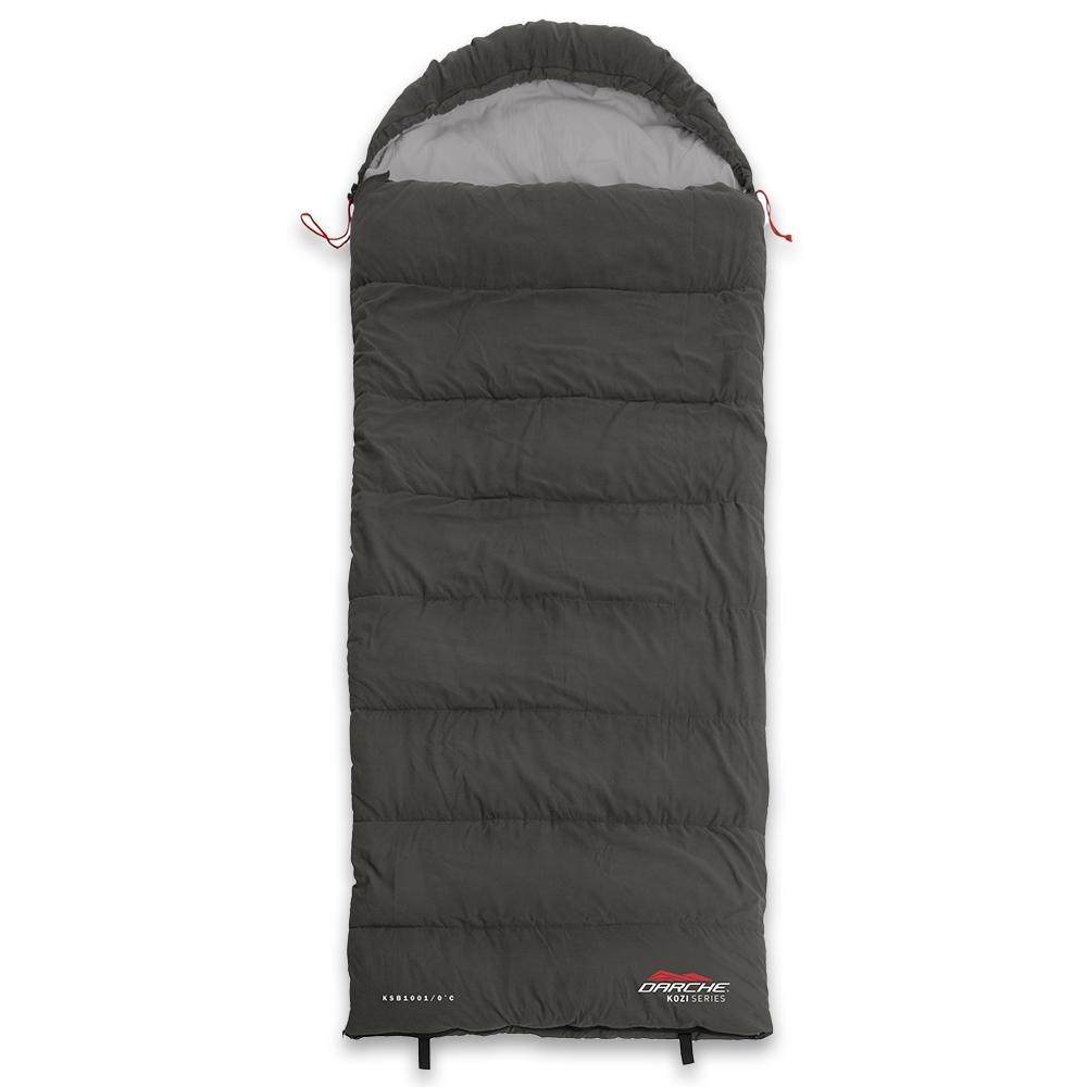 Darche KOZI Series Adult Sleeping Bag 0°C - Soft touch, low noise outer shell and lining